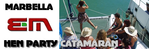Hen Weekend Catamaran Cruise for Hen Nights, Weekends, Corporate events entertainment