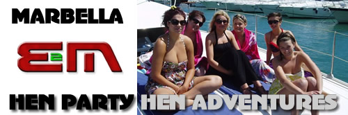 Hen Nights, Hen Weekends and Hen Parties in Marbella on the Costa del Sol, Spain