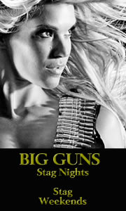 Shooting Range, Big Guns, Costa del Sol, Marbella Spain