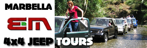 4x4 Jeep Hire Marbella Costa del Sol, Spain, Jeep hire equipement hire Costa del sol, Spain