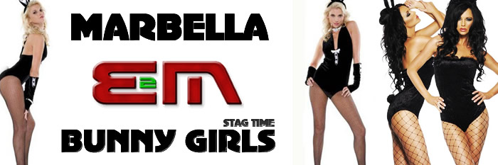 Bunny girls, Costa del Sol, Marbella Bunny girls, bunny girls stag nights, Stag weekends