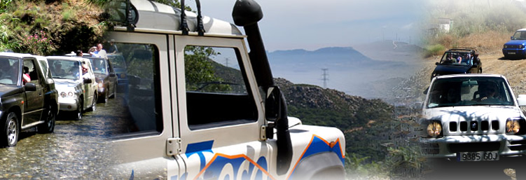 4x4 Guided tours in Marbella, Jeep Safari tours in Spain