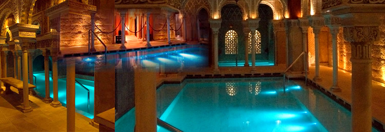 Arab Baths in Marbella, Costa del Sol