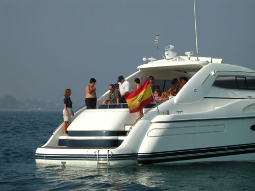 Luxury Boat hire in Marbella