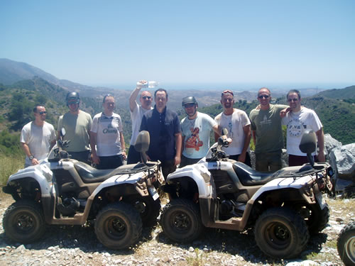 Quad Biking in Marbella, Costa del Quad bike family fun