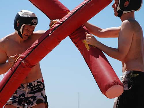 Team Building Beach Olympics in Marbella