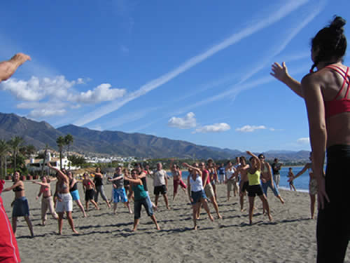 Team Building Beach Olympics in Marbella