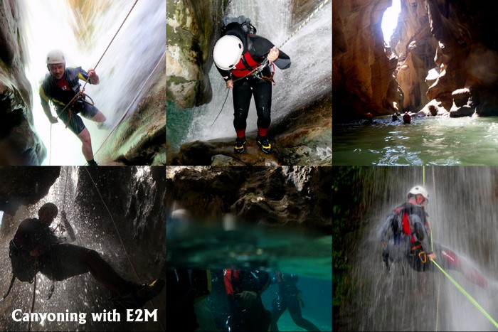 Canyoning with Escape2Marbella Costa del Sol Canyon family fun