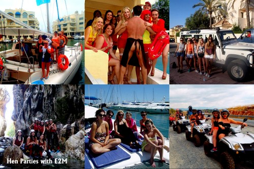 Hen weekends, Hen Nights Marbella hen events company , Costa del Sol, Spain