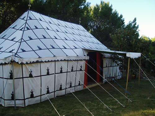 Moroccan Event in Marbella - Outside Moroccan Tent
