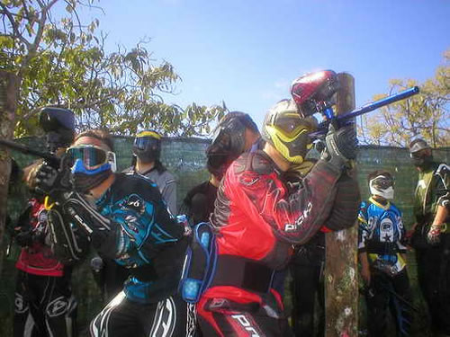 Paintball in Marbella - A Great Team Building Activity